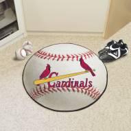 St. Louis Cardinals Baseball Rug