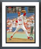 St. Louis Cardinals Rick Sutcliffe Action Framed Photo