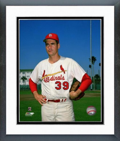 St. Louis Cardinals Ron Taylor Posed Framed Photo