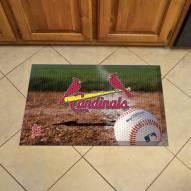 St. Louis Cardinals Scraper Door Mat