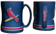 St. Louis Cardinals Sculpted Relief Coffee Mug