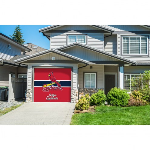 St. Louis Cardinals Single Garage Door Cover