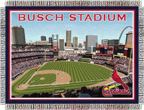 St. Louis Cardinals Stadium Throw Blanket