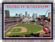 St. Louis Cardinals Stadium Throw Blanket