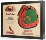St. Louis Cardinals 25-Layer StadiumViews 3D Wall Art