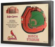 St. Louis Cardinals 25-Layer StadiumViews 3D Wall Art