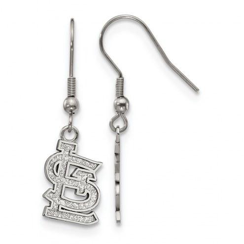 St. Louis Cardinals Stainless Steel Dangle Earrings