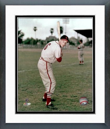 St. Louis Cardinals Stan Musial Framed Photo
