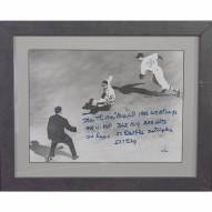 St. Louis Cardinals Stan Musial Signed 15 x 18 Framed Photo