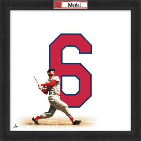 St. Louis Cardinals Stan Musial Uniframe Framed Jersey Photo