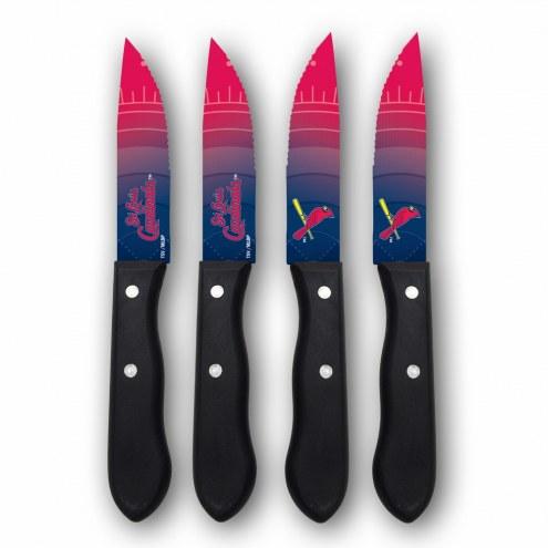 St. Louis Cardinals Steak Knives