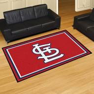 "St. Louis Cardinals ""STL"" 5' x 8' Area Rug"
