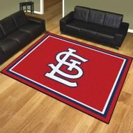 "St. Louis Cardinals ""STL"" 8' x 10' Area Rug"