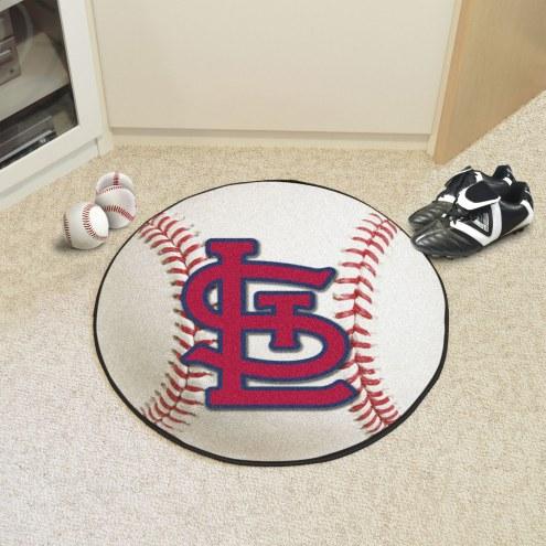 "St. Louis Cardinals ""STL"" Baseball Rug"