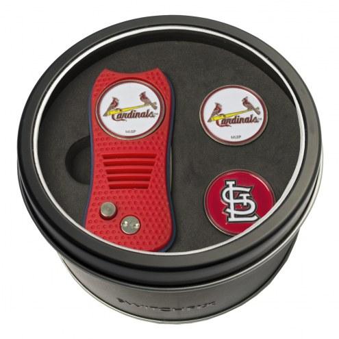 St. Louis Cardinals Switchfix Golf Divot Tool & Ball Markers