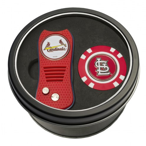 St. Louis Cardinals Switchfix Golf Divot Tool & Chip
