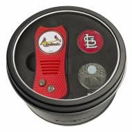 St. Louis Cardinals Switchfix Golf Divot Tool, Hat Clip, & Ball Marker