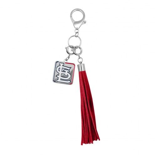 St. Louis Cardinals Tassel Purse Charm
