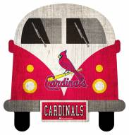 St. Louis Cardinals Team Bus Sign