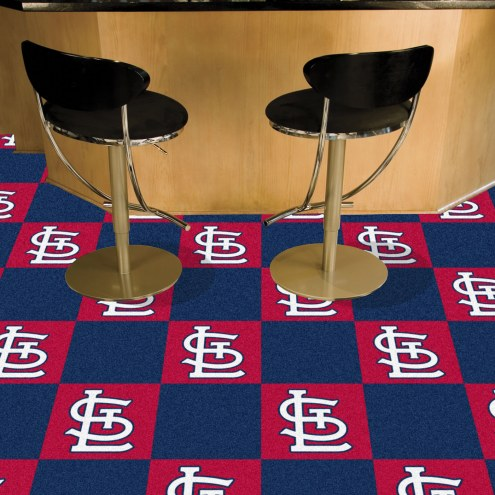 St. Louis Cardinals Team Carpet Tiles