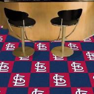 St. Louis Cardinals Team Carpet Tiles