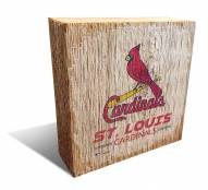St. Louis Cardinals Team Logo Block