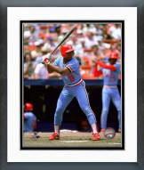 St. Louis Cardinals Terry Pendleton 1984 Action Framed Photo