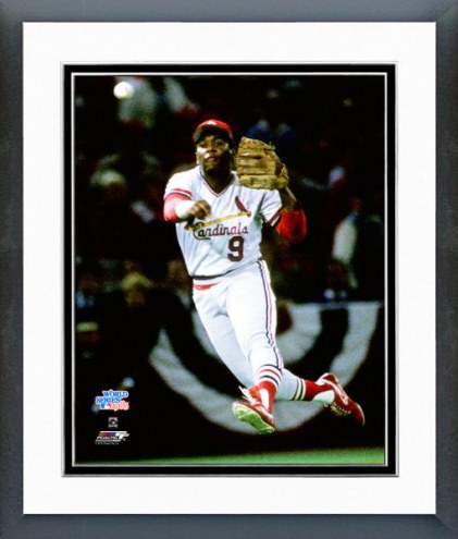 St. Louis Cardinals Terry Pendleton 1985 Framed Photo