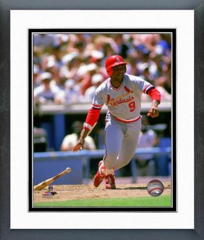 St. Louis Cardinals Terry Pendleton 1989 Action Framed Photo