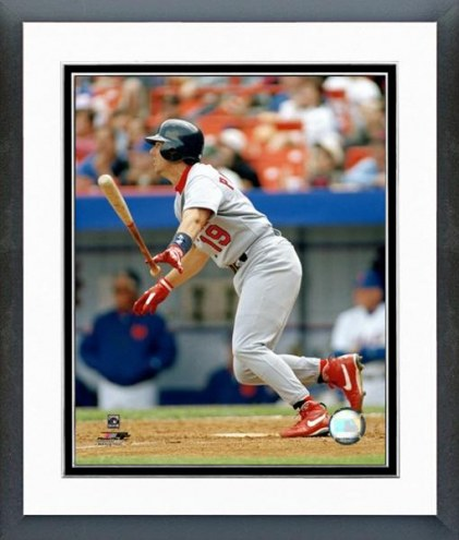 St. Louis Cardinals Tom Pagnozzi Action Framed Photo