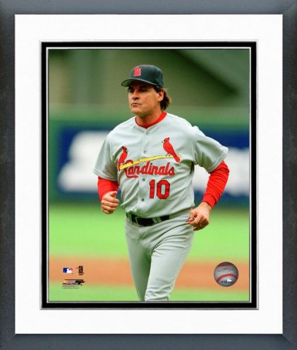 St. Louis Cardinals Tony LaRussa Action Framed Photo