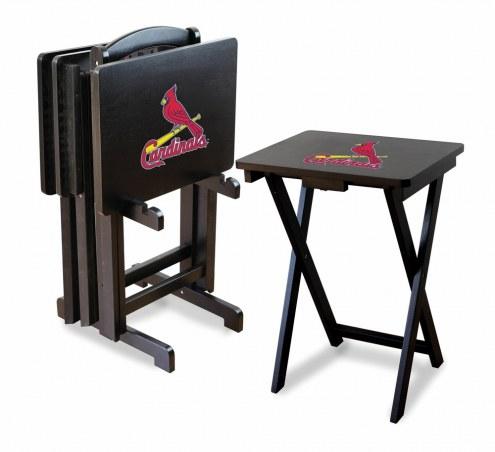 St. Louis Cardinals TV Trays - Set of 4