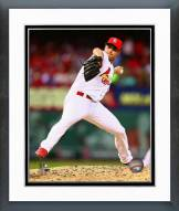 St. Louis Cardinals Tyler Lyons Action Framed Photo