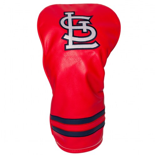 St. Louis Cardinals Vintage Golf Driver Headcover