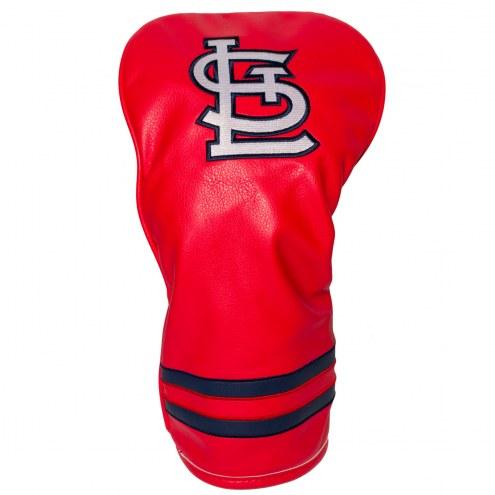 St. Louis Cardinals Vintage Golf Driver Headcover