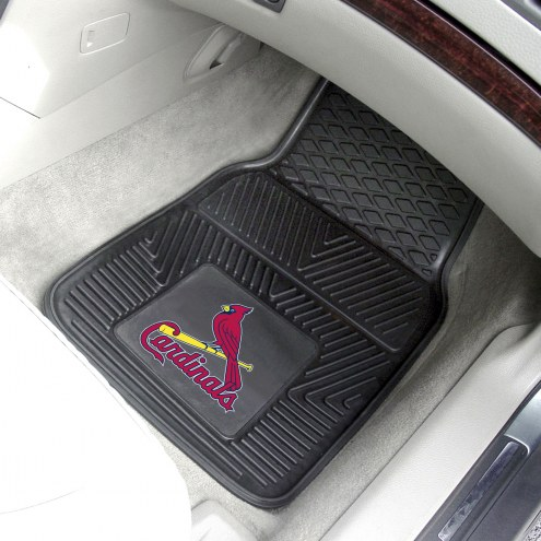St. Louis Cardinals Vinyl 2-Piece Car Floor Mats