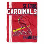 St. Louis Cardinals Walk Off Throw Blanket