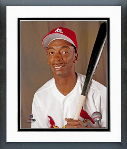 St. Louis Cardinals Willie McGee Posed Framed Photo