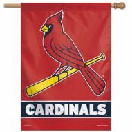 """St. Louis Cardinals 28"""" x 40"""" Banner"""