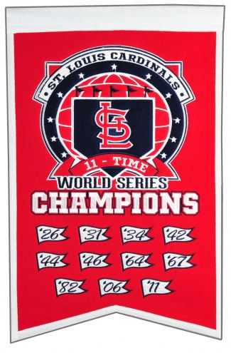 St. Louis Cardinals Champs Banner