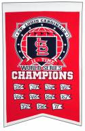 St. Louis Cardinals Champs Banner