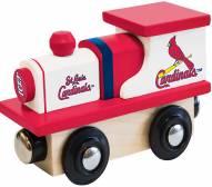 St. Louis Cardinals Wood Toy Train