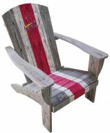 St. Louis Cardinals Wooden Adirondack Chair