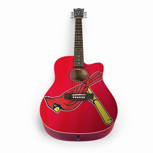 St. Louis Cardinals Woodrow Acoustic Guitar