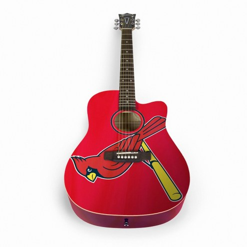 St. Louis Cardinals Woodrow Acoustic Guitar
