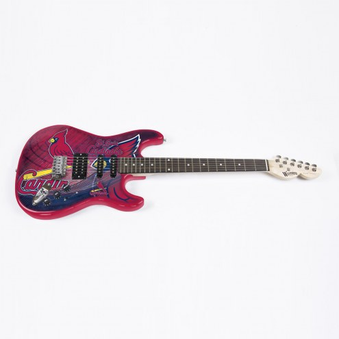 St. Louis Cardinals Woodrow Northender Electric Guitar