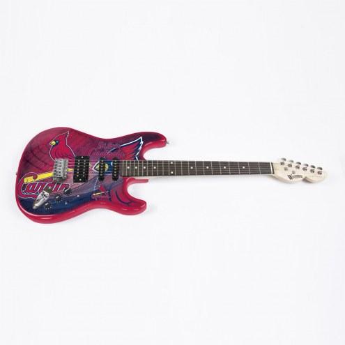 St. Louis Cardinals Woodrow Northender Electric Guitar