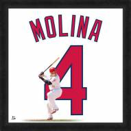 St. Louis Cardinals Yadier Molina Uniframe Framed Jersey Photo