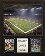 "Los Angeles Rams 12"" x 15"" Stadium Plaque"