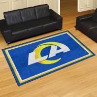 Los Angeles Rams 5' x 8' Area Rug